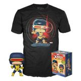 CYCLOPS EXCLUGLOWS IN THE DARK FUNKO POP AVEC T SHIRT TAILLE L