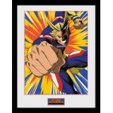 CADRE ALL MIGHT ACTION 30X40CM MY HERO ACADEMIA