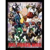 CADRE ONE PUNCH MAN HEROES AND VILLAINS 30X40