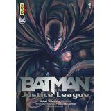 BATMAN VS THE JUSTICE LEAGUE 01